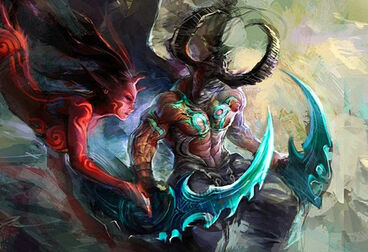 Fan art Illidan