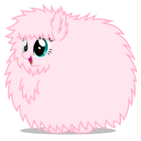 Fluffy pony