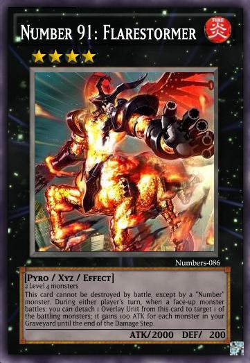 Number 91  Flarestormer   Yu Gi Oh Card Maker Wiki   Cards  Decks