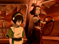 Toph and Suki