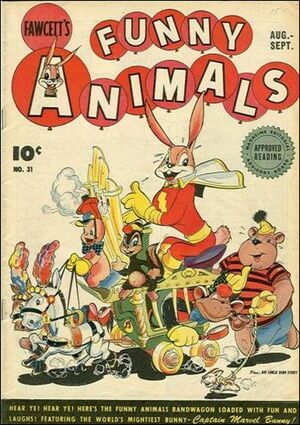 Cover for Fawcett's Funny Animals #31