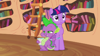Spike still enjoying ice cream S2E20