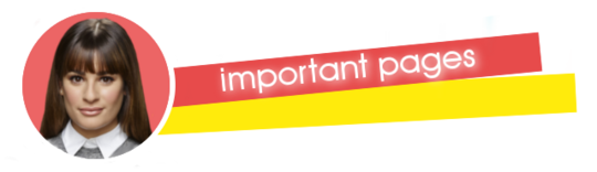 Important Pages Banner