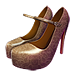 Standard 75x75 collect platform heels