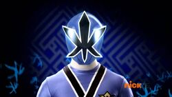 Blue Samurai Ranger