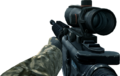 M4A1 ACOG Scope CoD4
