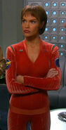 T&#39;Pol&#39;s casual uniform, red (2161)