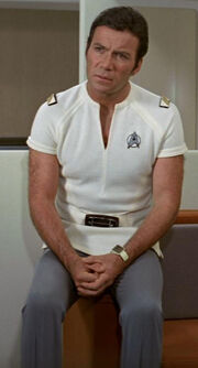 Starfleet short sleeved uniform, mid 2270s