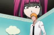 Riruka looks in on Ichigo