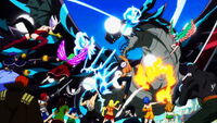 Fairy Tail attacks Acnologia