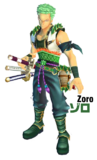Zoro en Unlimited Cruise