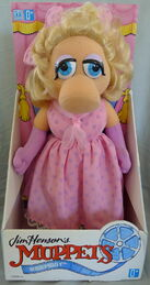 Hasbro 1993 miss piggy plush