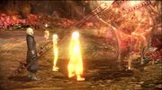 Serah and noel step into time gate