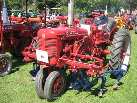 Farmall C cultivator