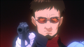 Gendo threatening Ritsuko (EoE).png