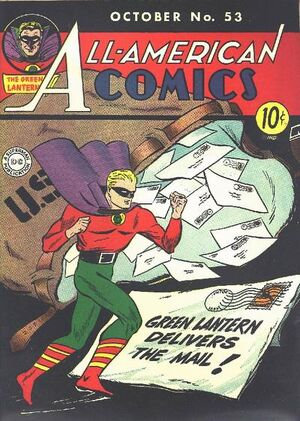 Cover for All-American Comics #53