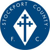 Stockport County FC logo (1978-1989)