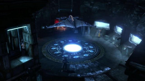 Batman arkham city batcave