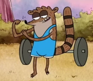 Bodybuilder (rigby&#39;s body)