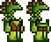 Terraria = Jungle Armor Sets Male + Female