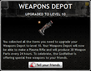 Weapons Depot Level 10