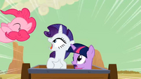 Rarity screaming S02E14