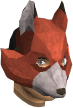 Fox mask chathead