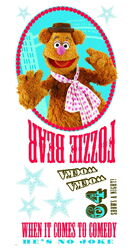 Roommates decals fozzie bear 2