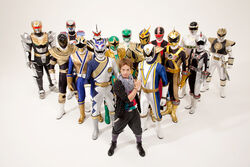 Gai and 15 Sixth Rangers