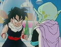 Gohan fighting garlic jr5