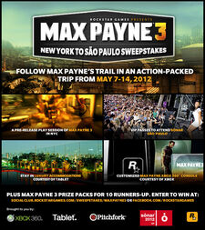 MP3 Follow Max Payne's Trail Sweepstakes