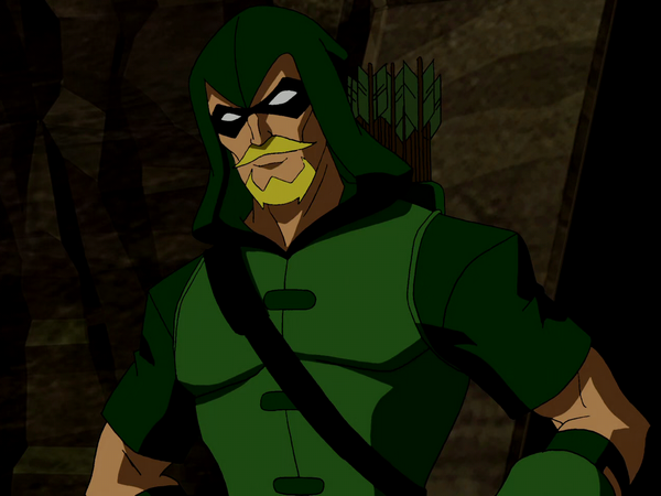 Green Arrow - Young Justice Wiki: The Young Justice ...