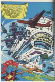 S.H.I.E.L.D. Helicarrier from Strange Tales Vol 1 135