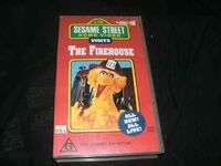 SesameStreetHomeVideoVisitstheFirehouseAustralianVHS
