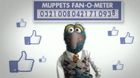 Gonzo Facebook Fan-A-Thon Promotional Video