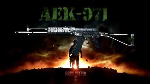 Battlefield 3 - AEK-971 Sound