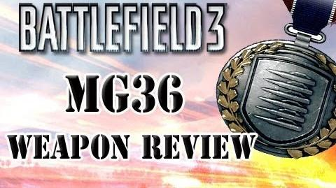 Battlefield 3 MG36 Weapon Review