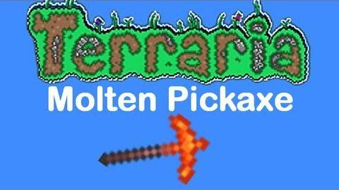 Molten Pickaxe Terraria Wiki