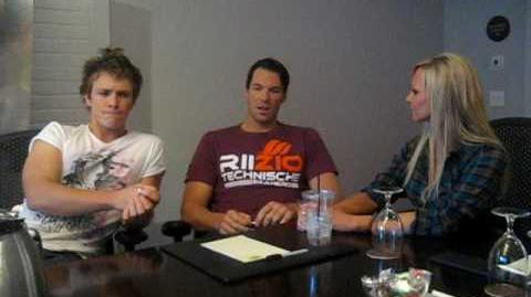 Kyle interviews New Moon stars Daniel Cudmore and Charles Bewley Part 1