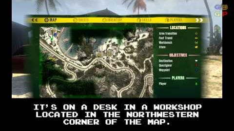 Dead Island - Id Card 17 Location