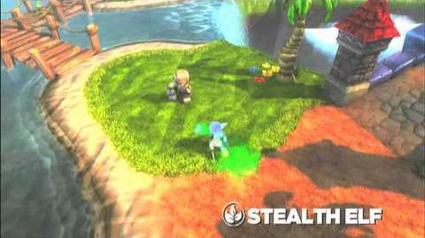 Skylanders Spyro's Adventure - Stealth Elf Preview Trailer (Silent but Deadly)