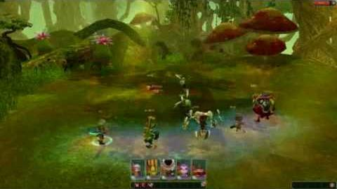 CLU Second Code Lyoko MMORPG Test Video..