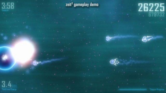 Zeit² - arcade like shoot'em up with time travel