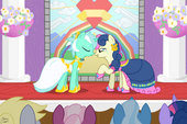 Bon Bon and Lyra's wedding