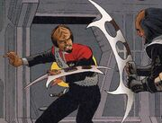 Worf batleth Malibu Comics