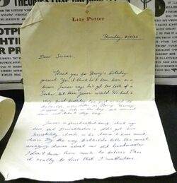 Lily&#39;sLetter