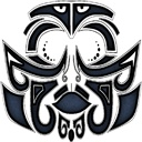 Tattoo maori face copy