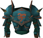 Bandos platebody detail