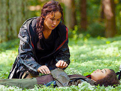 the hunger games rue