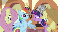 Rainbow Dash &quot;But I don&#39;t even like cake&quot; S2E24